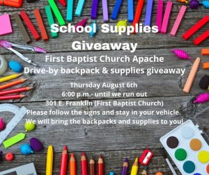 get school supplies at the library